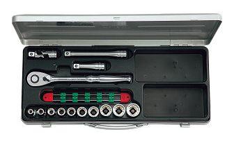 KTC/京都機械工具(株) 12.7sq.ソケットレンチセット[14点]TB410X