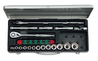KTC/京都機械工具(株) 12.7sq.ソケットレンチセット[19点]TB413X