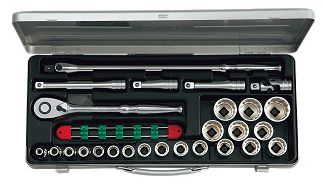 KTC/京都機械工具(株) 12.7sq.ソケットレンチセット[26点]TB420X
