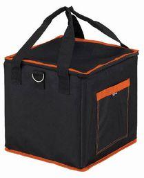 収納バケットとして使用できます TRUSCO トラスコ中山 当店は最高な サービスを提供します 株 折りたたみ角バッグS 低価格 300X300XH300TRK30-SF フタ付き