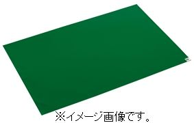 【代引き不可商品】【時間指定不可】TERAMOTO/テラモト 粘着マットシートG 緑 60枚層 600×1200 一般用 MR-123-643-1