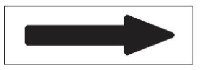 8 800円 税込 以上のご注文で送料無料 緑十字 メーカー直送 株 日本緑十字社 10枚組 年間定番 →黒矢印 特貼矢01 60×220mm 配管方向表示ステッカー 194001 アルミ