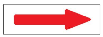 8 800円 税込 以上のご注文で送料無料 緑十字 株 日本緑十字社 10枚組 本日の目玉 配管方向表示ステッカー アルミ 60×220mm 特貼矢05 194005 →赤矢印 毎週更新