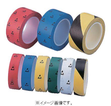 アズピュア ESD PETラインテープ50 緑色 5巻 1-4808-55