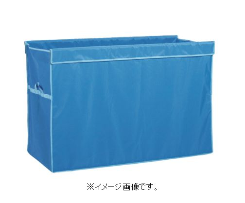 【代引き不可商品】【時間指定不可】TERAMOTO/テラモト UF多分別回収カート(袋) 360L 青 DS-579-062-3