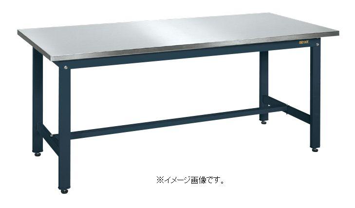 【代引き不可】【時間指定・日祝着不可】SAKAE/サカエ 軽量作業台KKタイプ(ステンレス天板仕様) W1800×D900×H740mm 組立式 KK-189SU3DN