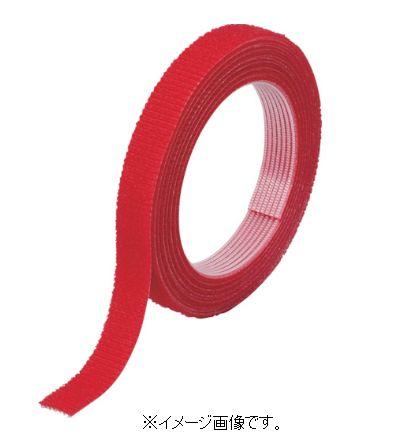 TRUSCO/トラスコ中山(株) マジックバンド(R)結束テープ両面 幅40mmX長さ30m 赤 MKT-40W-R