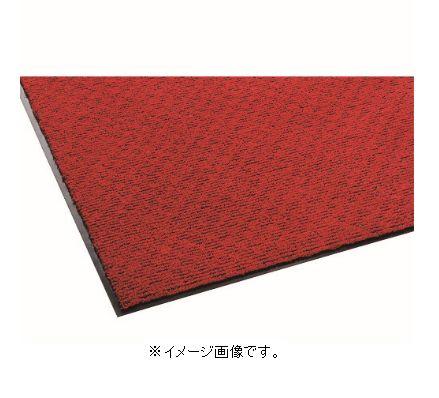 【代引き不可商品】【時間指定不可】TERAMOTO/テラモト 雨天用マット ニューテラレイン 900×1800mm レッド MR-025-048-2