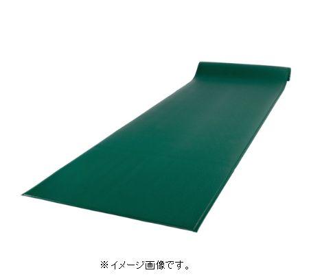 【代引き不可商品】【時間指定不可】TERAMOTO/テラモト テラクッション極厚 1200mm×5m グリーン MR-069-050-1