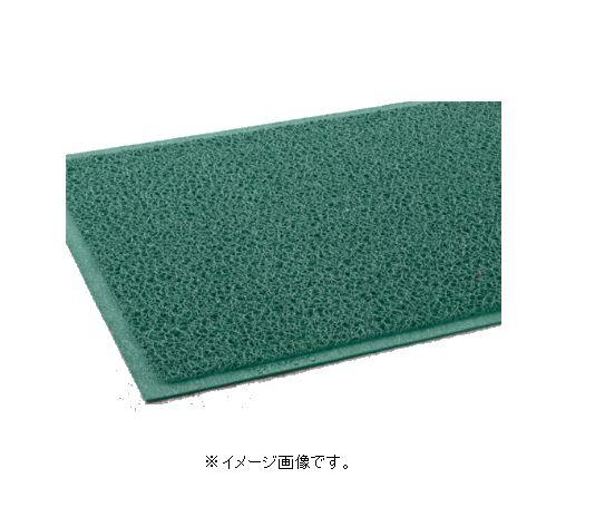 【代引き不可商品】【時間指定不可】TERAMOTO/テラモト ケミタングル ソフト 緑 120cm×6m(ふちなし) MR-139-258-1