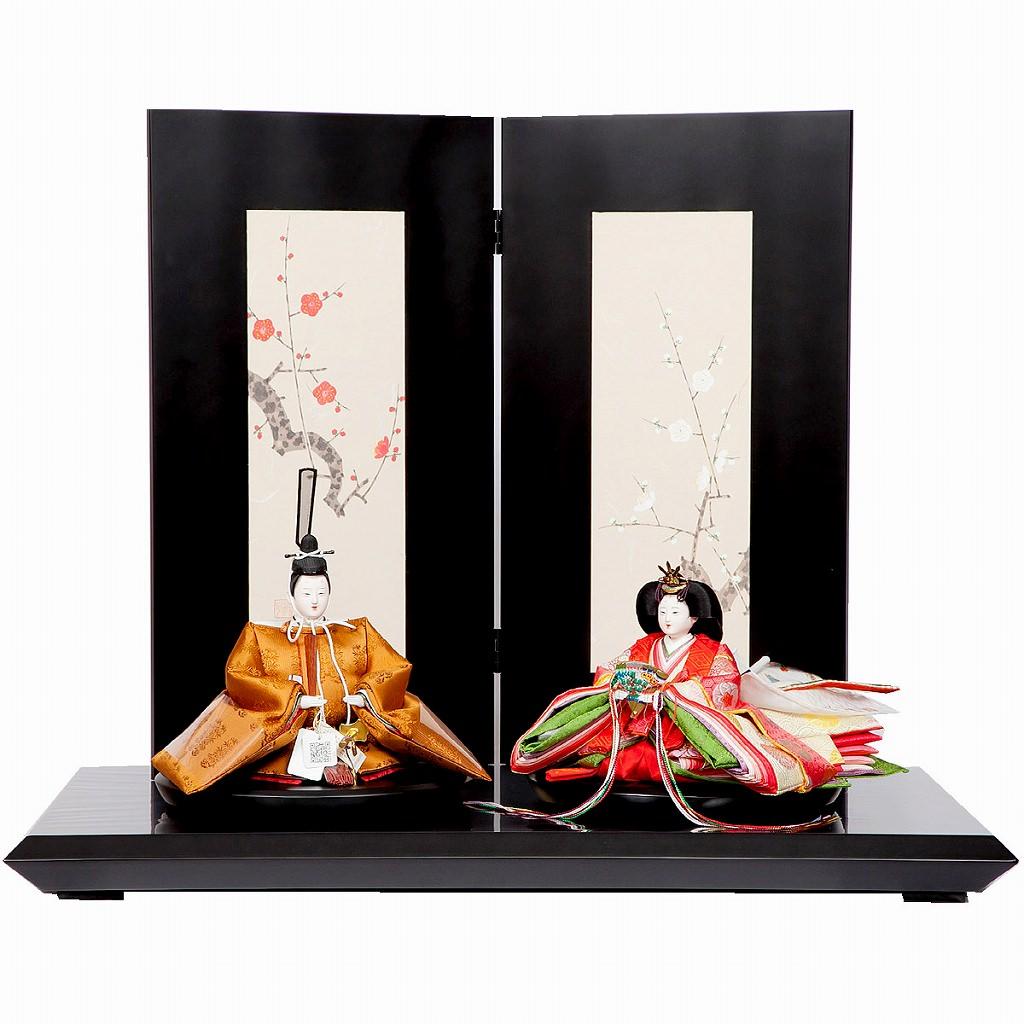 雛人形 三五 親王飾り 黄櫨染御袍 小出松寿 藤沢瑞馨 送料無料