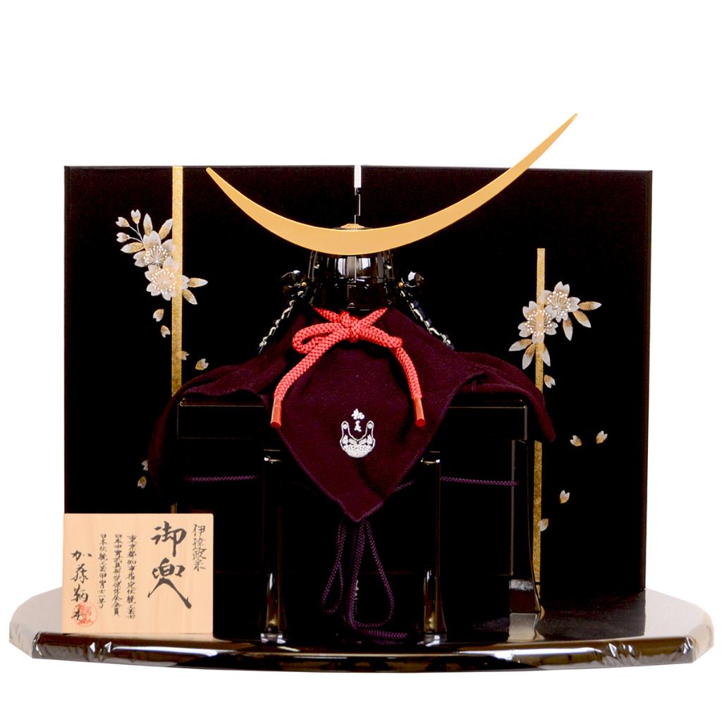 五月節句 男の子 五月人形 兜飾り 1/3 10号 伊達政宗 加藤鞆美作 送料無料