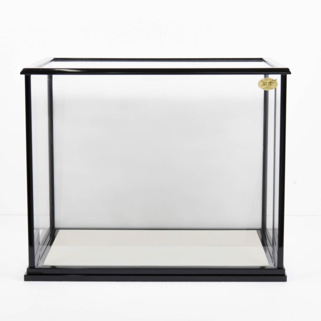雛人形 単品ケース かぶせ式 ガラスケース くもりガラス背景【送料無料】【展示特価品】