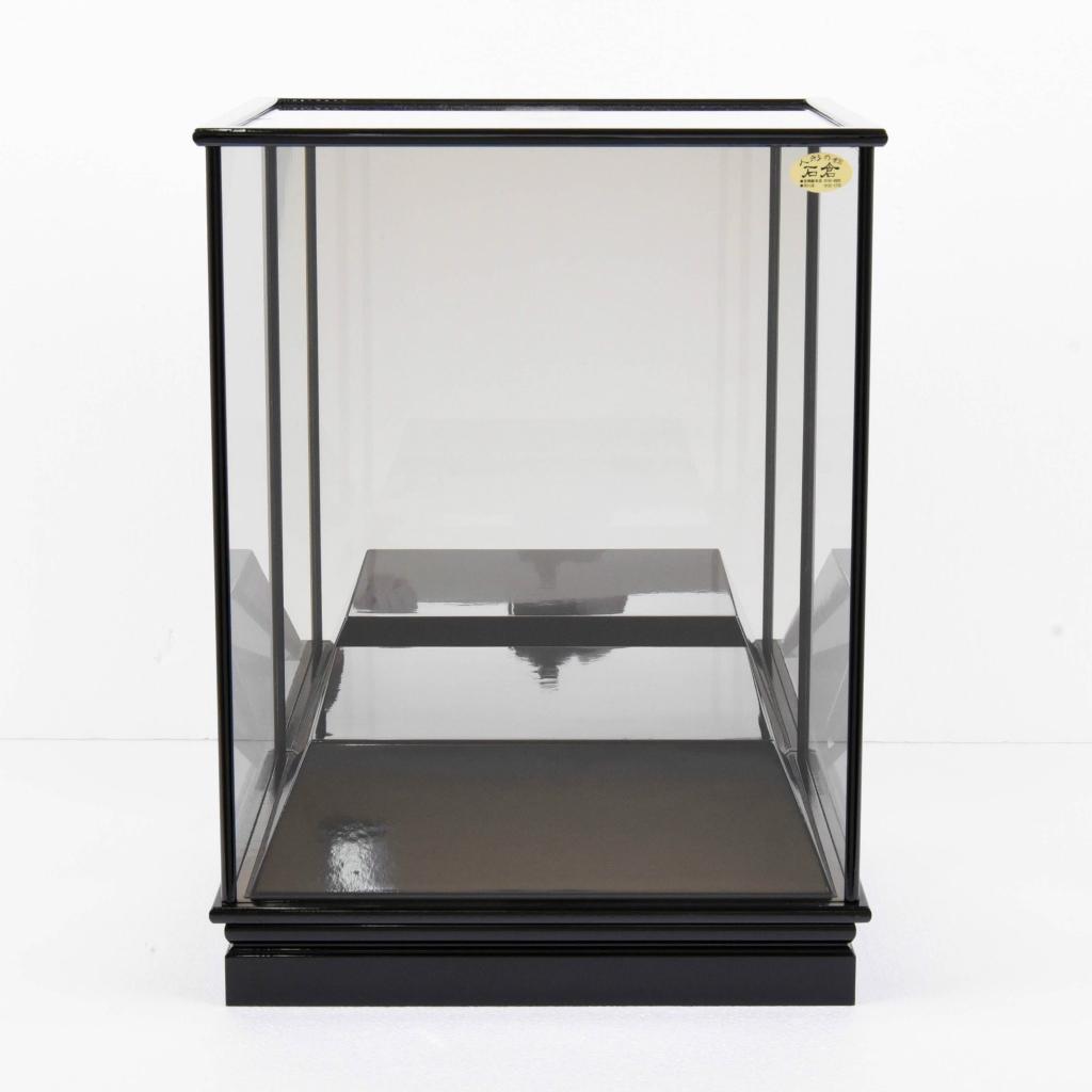 五月人形 単品ケース かぶせ式 高台鏡ケース 高台高さ10cm 【送料無料】【展示特価品】