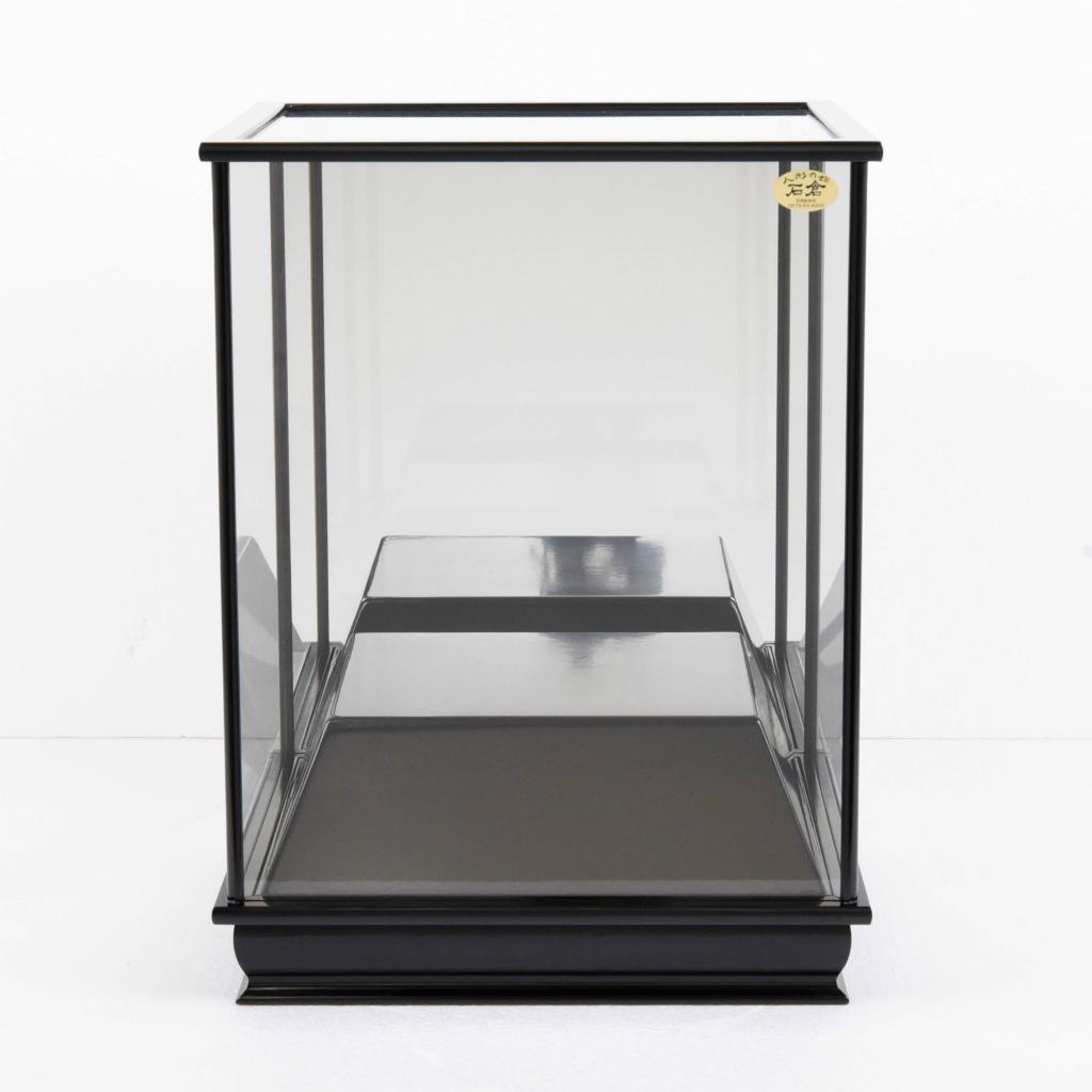 五月人形 単品ケース かぶせ式 高台鏡ケース 高台高さ7cm 【送料無料】【展示特価品】