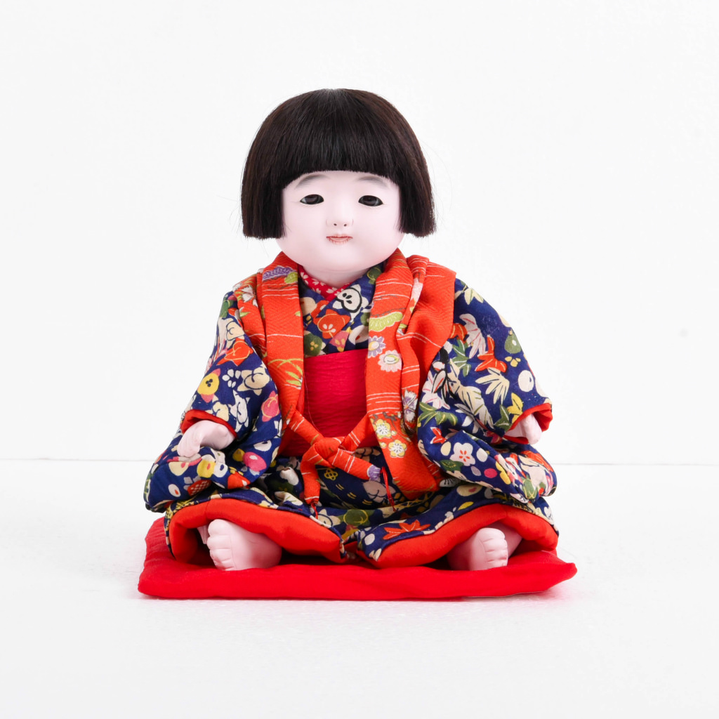 市松人形 おさな人形 女の子(大) 松乾斎東光作 アウトレット【送料無料】【展示特価品】