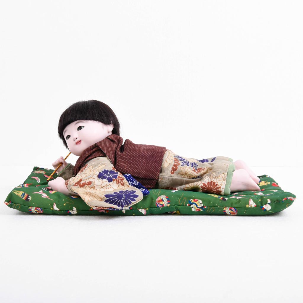 市松人形 這い子人形 男の子(大) 松乾斎東光作【送料無料】【展示特価品】