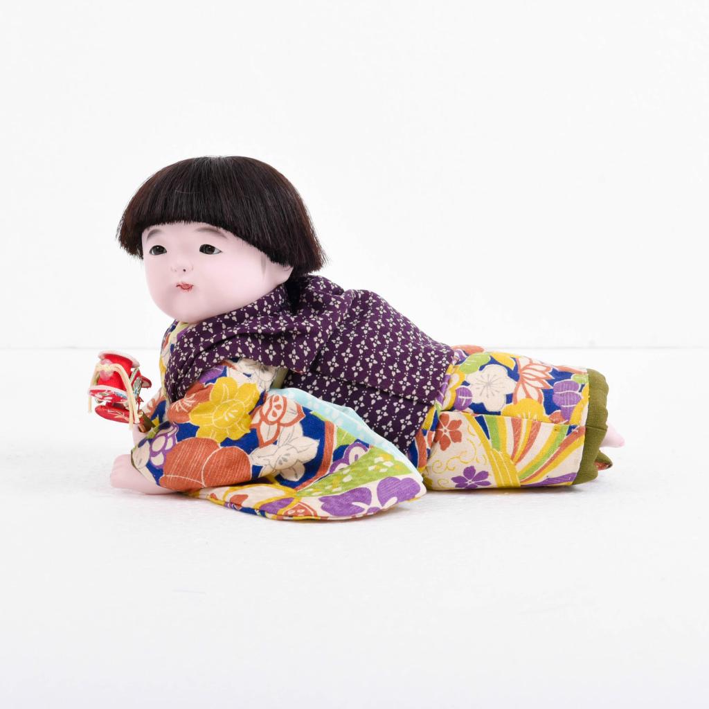 市松人形 這い子人形 男の子(小) 松乾斎東光作【送料無料】【展示特価品】