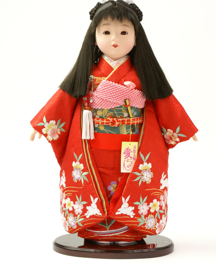 雛人形 特選 ひな人形 市松人形 童人形 浮世人形 人形のみ 13号 齋藤公司作 ケース別売り No.059 【2013年度新作】 h223-130260-96a-m