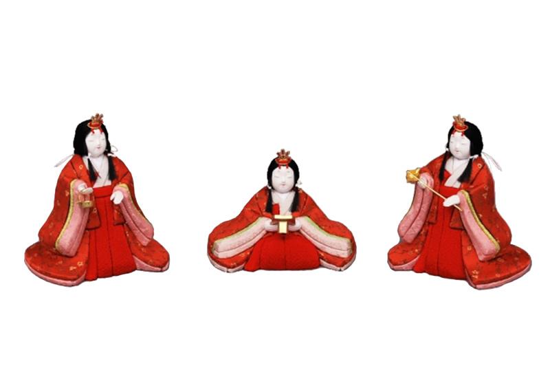 雛人形 特選 幸一光 ひな人形 雛 木目込人形飾り 官女単品 官女セット 小 人形のみ 正絹 【2019年度新作】 h313-koi-4130
