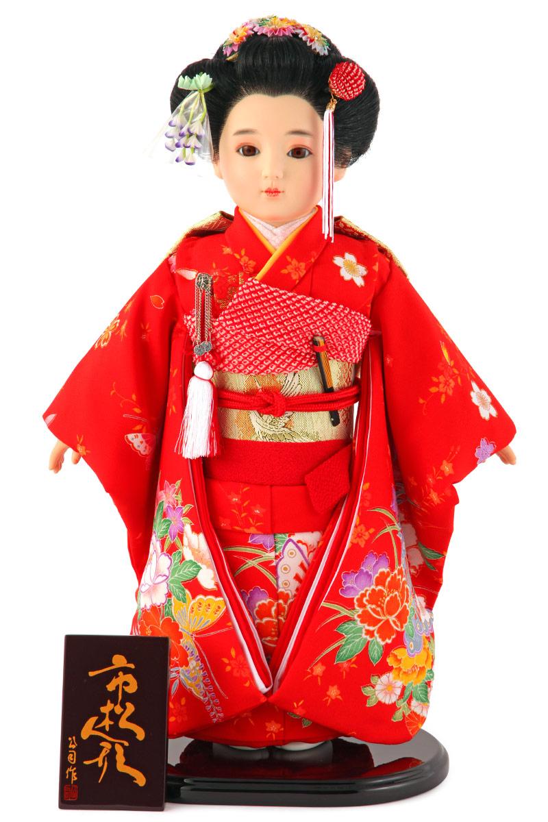 雛人形 ひな人形 雛 市松人形 童人形 人形単品 公司作 13号 【2019年度新作】 kj-130210-05ao
