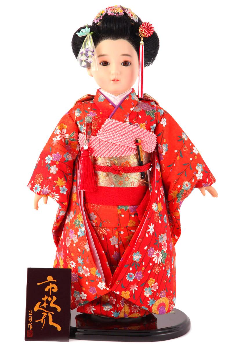 雛人形 ひな人形 雛 市松人形 童人形 人形単品 公司作 13号 【2019年度新作】 kj-130210-17bo