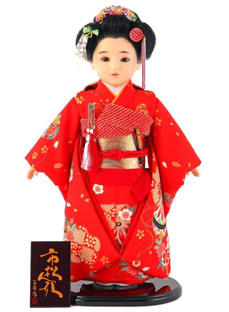 雛人形 ひな人形 雛 市松人形 童人形 人形単品 公司作 13号 【2019年度新作】 kj-130210-89ao