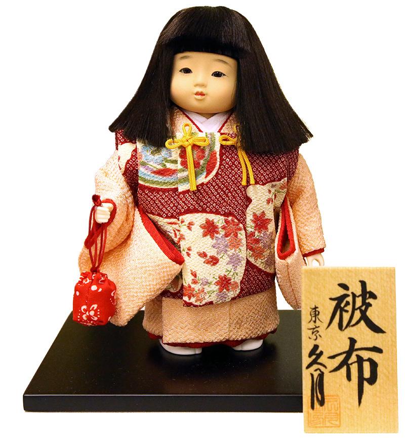 雛人形 久月 ひな人形 雛 市松人形 浮世人形 松印5 寿々女 被布 【2019年度新作】 h313-k-matsu5-su K-135