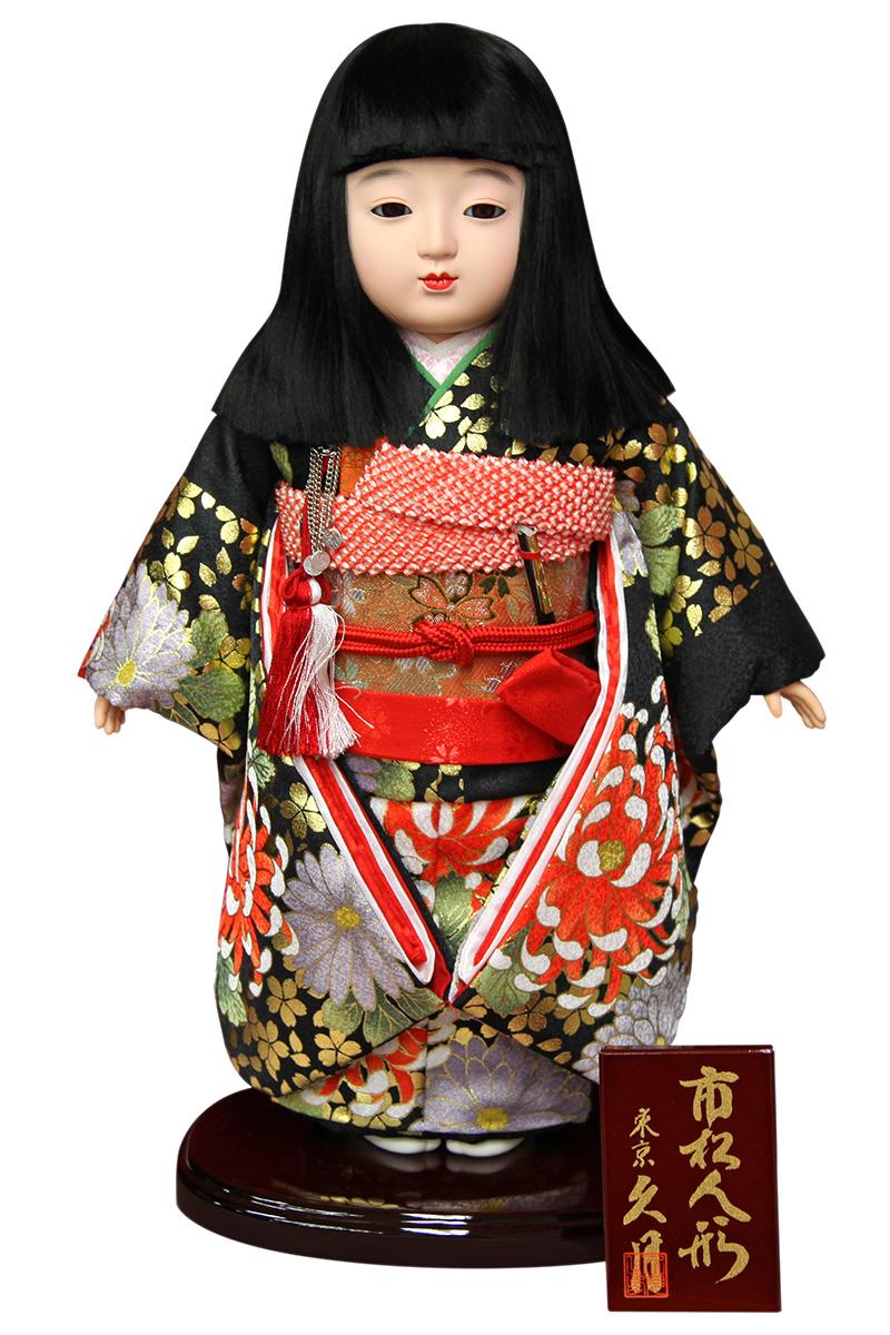 雛人形 久月 ひな人形 雛 市松人形 友禅 【2019年度新作】 h313-k-k1016g-17 K-123