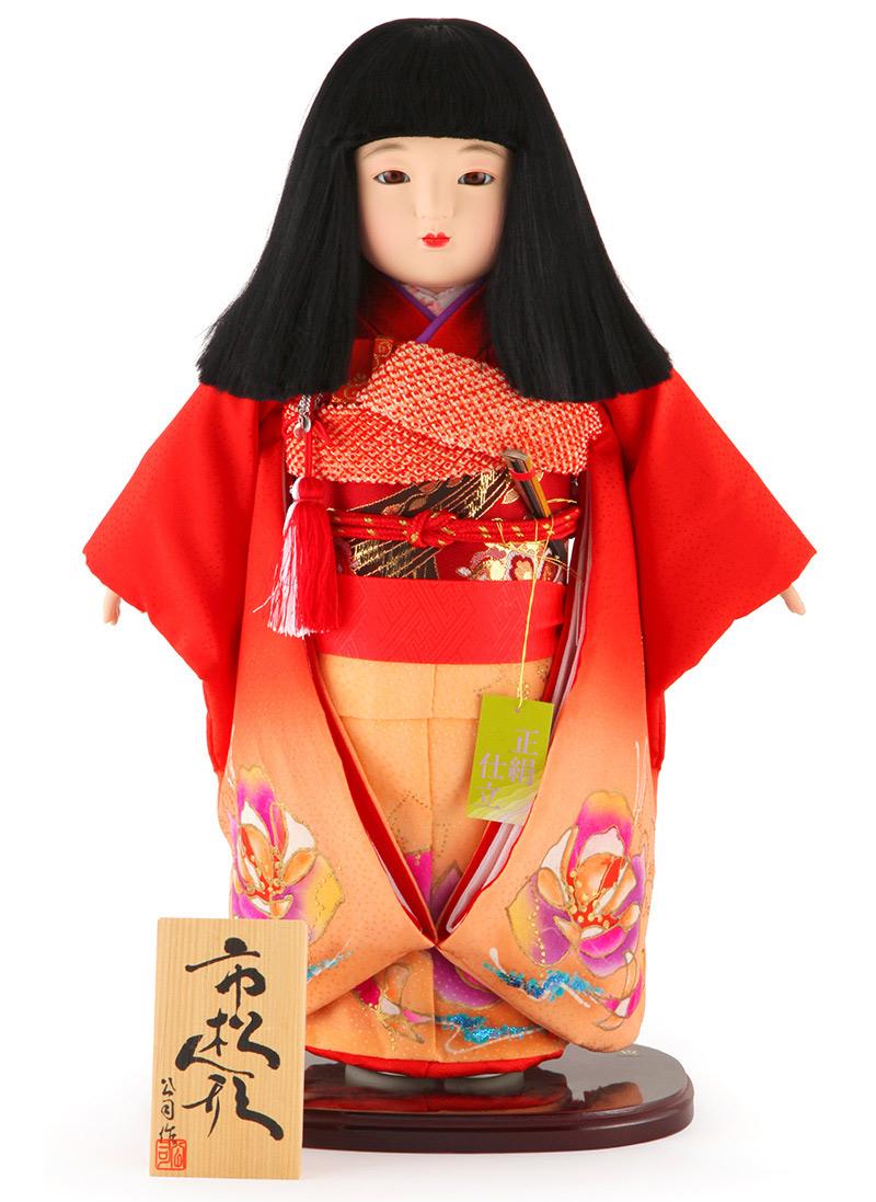 雛人形 ひな人形 雛 市松人形 童人形 人形単品 公司作 13号 【2019年度新作】 mi-kj-130175-73a-j