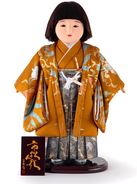 雛人形 ひな人形 雛 市松人形 童人形 人形単品 公司作 太郎 13号 【2020年度新作】 mi-kj-130280-06ao