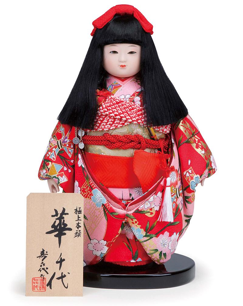 雛人形 スキヨ ひな人形 雛 市松人形 寿喜代作 華千代38 正絹 【2018年度新作】 h303-sk-38
