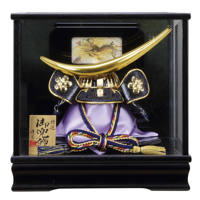五月人形 伊達政宗 兜ケース飾り 兜飾り 清月作 15号 オルゴール付 【2019年度新作】 h315-fz-5720-76-001