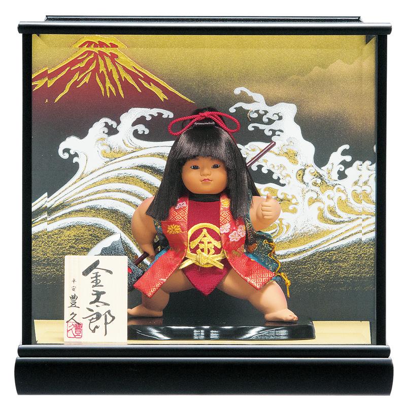 五月人形 豊久 金太郎 武者人形 ケース飾り 7号 【2020年度新作】 h025-mo-530655 GE-234