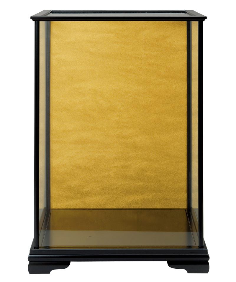日本人形 人形ケース ケース単品 寿喜代作 木製 ガラスケース 8号用 【2018年度新作】 sk-ca35-45