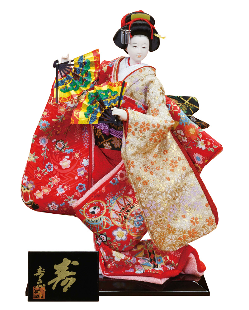 日本人形 尾山人形 人形単品 寿喜代作 極上 寿 友禅 6号 【2018年度新作】 sk-gokujo691
