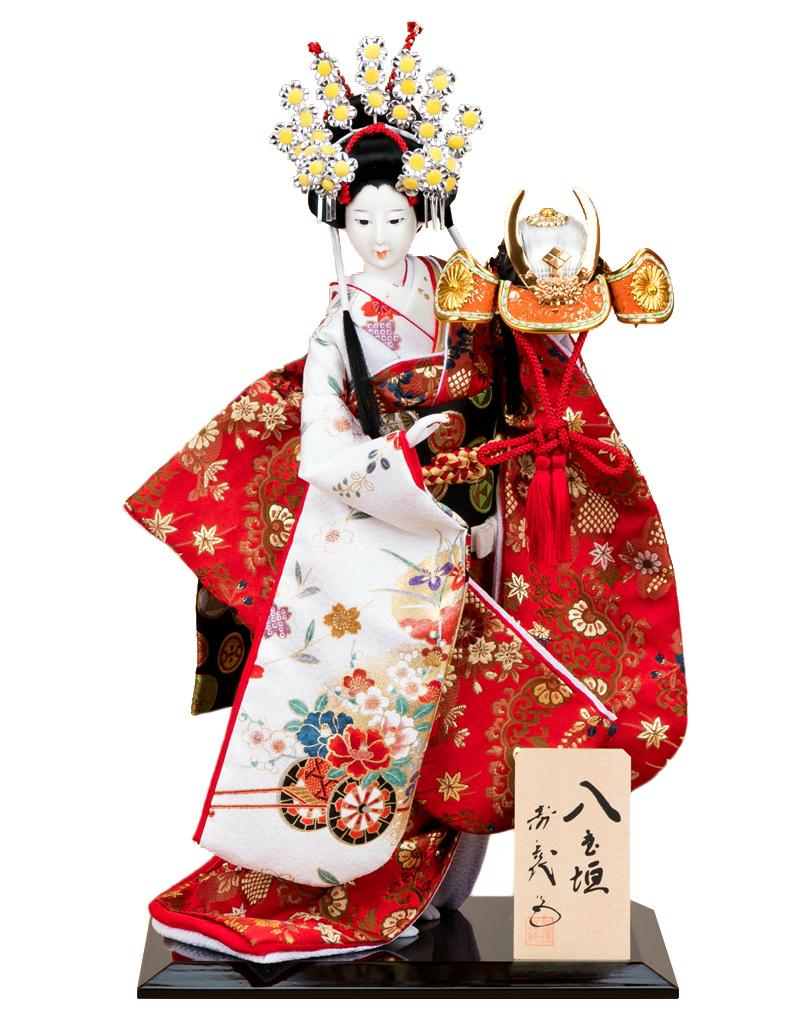 日本人形 尾山人形 人形単品 寿喜代作 八重垣 金らん 10号 【2018年度新作】 sk-o1425