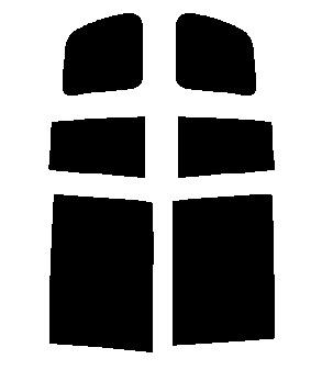 送料無料●リヤーサイドガラスのみ トヨタ アイシス ANM10W・ANM15W・ANM10G・ANM15G・ZNM10W・ZNM10G・ZGM10W・ZGM11W・ZGM15W・ZGM10G・ZGM11G・ZGM15G カット済みカーフィルム 顔料着色・断熱フィルム