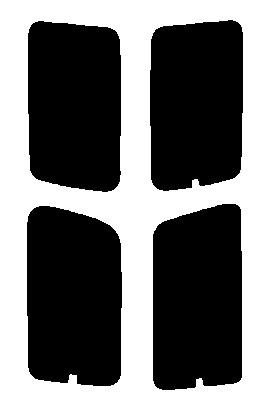 送料無料●リヤーサイドガラスのみ ニッサン エルグランド AVWE50・AVE50・ALWE50・ALE50・ATWE50・ATE50・APWE50・APE50カット済みカーフィルム 高透明・断熱フィルム