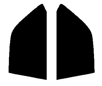送料無料●リヤーサイドガラスのみ ニッサン ローレル SC34・HC34・GCC34・GC34・GNC34カット済みカーフィルム 高透明・断熱フィルム