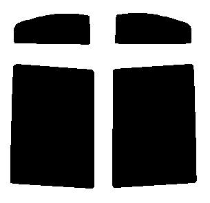 """贈呈 使用素材は東レ""""ルミラー"""" 送料無料 リヤーサイドガラスのみ スズキ カット済みカーフィルム ワゴンR ハードコート NEW MH23S"""
