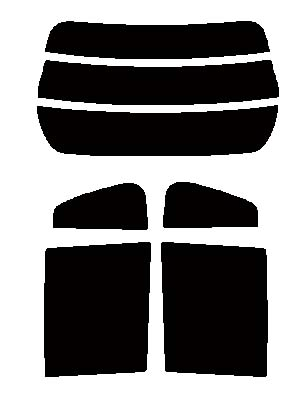 スパッタゴールド 送料無料●スパッタゴールド リヤーセット ダイハツ エッセ L235S・L245Sカット済みカーフィルム ハードコート 代引き注文不可