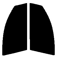 ●GHOST(ゴースト) オーロラ80 運転席・助手席  ブーン (BOON) M300S・M301S・M310Sカット済みカーフィルム ハードコート 代引き注文不可