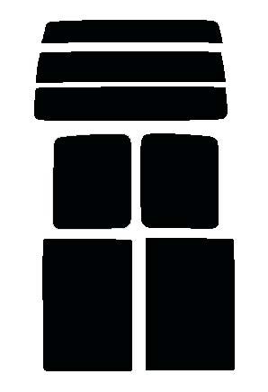 スパッタゴールド 送料無料●スパッタゴールド リヤーセット ダイハツ アトレー S320G・S330G・S321G・S331G 手動スライドドア用カット済みカーフィルム ハードコート 代引き注文不可
