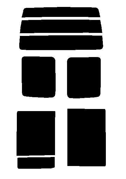 スパッタゴールド 送料無料●スパッタゴールド リヤーセット ダイハツ アトレー S320G・S330G・S321G・S331G パワースライドドアカット済みカーフィルム ハードコート 代引き注文不可
