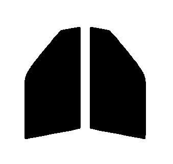 ●GHOST(ゴースト) オーロラ80 運転席・助手席 ホンダ N-ONE JG1 JG2カット済みカーフィルム ハードコート 代引き注文不可