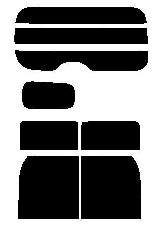 送料無料●リヤーガラス、サイドガラス 別色指定可能  簡単ハードコート キューブ (cube) Z12・NZ12 カット済みカーフィルム リヤーセット:株式会社セブン