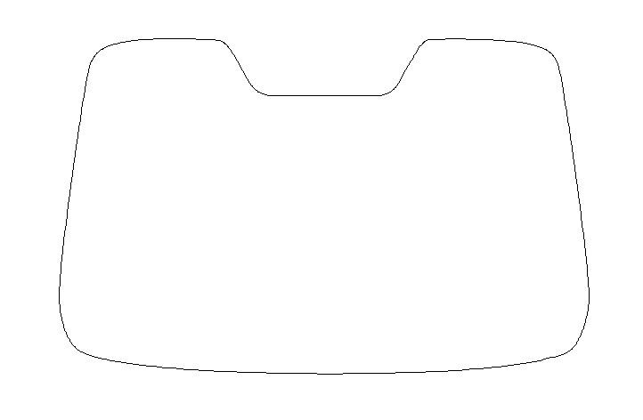 GHOST(ゴースト) オーロラ ●GHOST(ゴースト) オーロラ80 フロントガラス プリウス ZVW30カット済みカーフィルム ハードコート 代引き注文不可