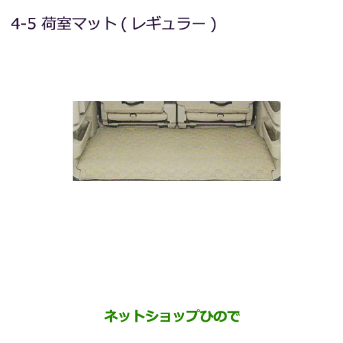 大型送料加算商品 純正部品三菱 タウンボックス荷室マット(レギュラー)純正品番 MZ514123【DS17W】※4-5