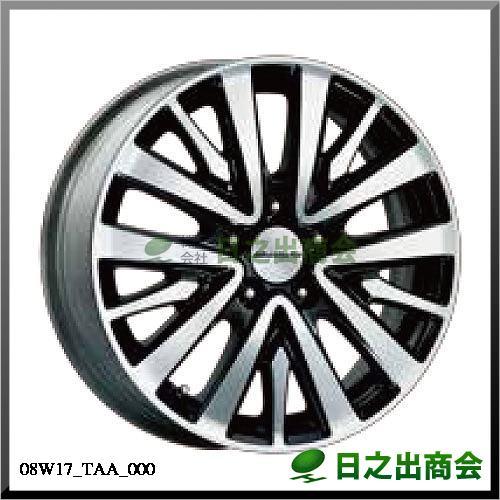 17インチアルミホイール MG-016 ダイヤモンドカット/ベルリナブラック塗装 (17×6J インセット50mm)08W17-TAA-000 ベルリナブラック塗装